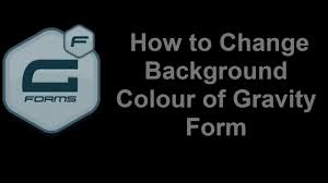 guide for adding background color or image in gravity forms youtube