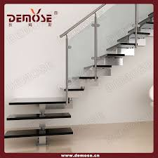 Small Space Stairs - modern single stringer shaped steel wood staircase buy stainless