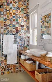 patterned tile bathroom to da loos mix matched patchwork pattern tile bathrooms