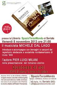 libreria terzo mondo seriate programma delle presentazioni pier luigi milani