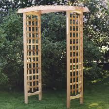 garden arbor by all things cedar pergola furniture