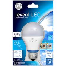 Led Light Bulbs Ge by Ge Lighting 63180 Reveal Led 11 Watt 60 Watt Replacement 800