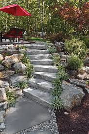Rock Garden Steps by Accents U2013 Lighting Systems Edging Caps Steps Stone Center Of Va