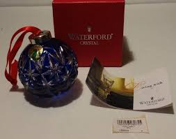 ornament iid beautiful waterford ornaments picture 1 of 6