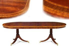 mahogany dining room set formal oval inlaid mahogany dining table with leaves