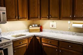 Led Lighting Over Kitchen Sink by Kitchen Using Under Cabinet Led Lights Over Granite Countertops
