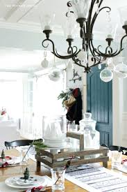 pictures of ornaments hanging from chandelier need a simple way to