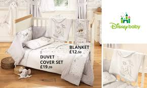 Dunelm Mill Nursery Curtains by Disney Dumbo Bedding Collection Dunelm