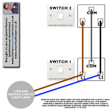 electrical helper wiring 2 way switch video