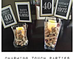50th Birthday Party Decoration Ideas Birthday Centerpiece Etsy