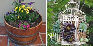 Container Gardening Ideas 12 Unique Container Gardening Ideas Creative Container Gardens