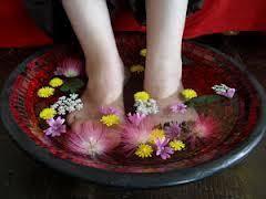 bassine pour bain de si e réflexologie bien être soin des pieds bain de pied je me détends