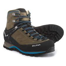 salewa mountain trainer mid gore tex hiking boots for men