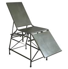 Portable Folding Bed Antique Field Examination Table For Sale At 1stdibs