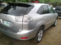 lexus rx330 nairaland 2007 lexus rx330 registered for sale super clean and fresh autos