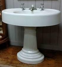 Porcelain Pedestal Sink Antique Pedestal Sink Ebay