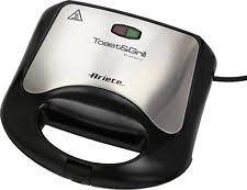 ariete tostapane b0656639 griglia elettrica ariete toast e grill easy ebay