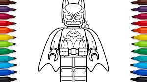 how to draw lego batgirl from the lego batman movie coloring