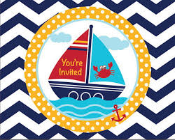 nautical party supplies nautical baby shower party supplies my paper shop