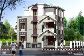 modern house building apartments three story home designs story townhouse floor plan