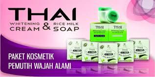 Sabun Thai paket pemutih thai dan sabun beras thailand http www