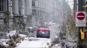 jeep snow meme jeep river in the city stunt transports unsuspecting drivers to