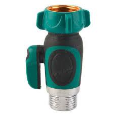 3 4 inch garden hose 1 way shut off valve water pipe faucet