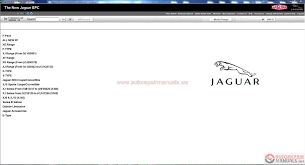 jaguar epc vin 01 2017 full instruction auto repair manual