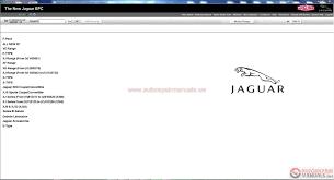 jaguar epc vin 01 2017 full instruction auto repair manual