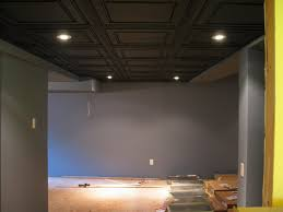 drop ceiling alternatives for basement options basement drop