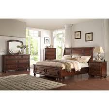 Low Profile Bedroom Sets Youll Love Wayfair - Grande sleigh 5 piece cal king bedroom set
