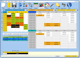 mimosa help timetables view