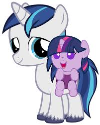 image colt shining armor and baby twilight png my little pony