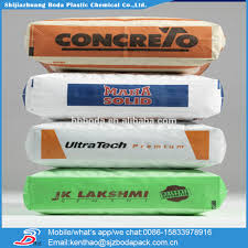 25kg to 50kg ad star kon pp cement bags cement sacks block bottom