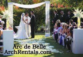 wedding arch rental acrylic wedding altar rentals lucite arch san diego diy wedding