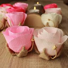 wedding paper flowers for table decorations centerpiece idea