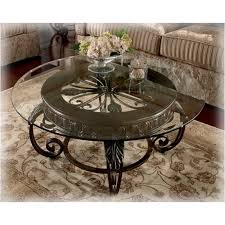 ashley furniture round coffee table t399 8t ashley furniture tullio living room round cocktail table