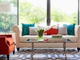 Orange Living Room Chairs by 20 Comfortable Living Room Color Schemes And Paint Color Ideas