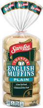 English Toaster Toaster Plain English Muffins Sara Lee Bread