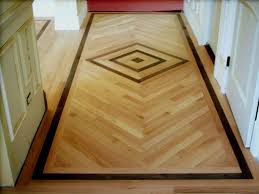 Hardwood Floor Border Design Ideas Wood And Tile Floor Designs Unique Hardscape Design The