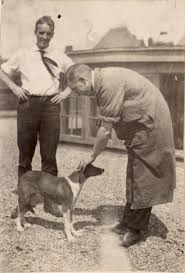 photograph of f g banting and c h best with a heritage u