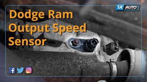 1998 dodge dakota speed sensor how to install replace output speed sensor dodge ram buy quality