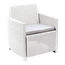 divano giardino poltrona doppia o divano a 2 posti lipari bianco prezzi e offerte