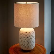 Ceramic Table Ls For Living Room 169 00 Dimensions 14 Diam X 24 H Pierced Ceramic Table L