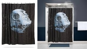 the star wars death star shower curtain walyou