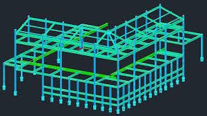 Fabuloso Projeto de estrutura metálica para galpão - Aio &VQ47