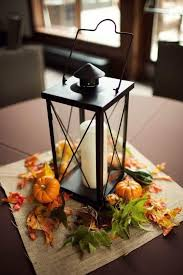 Lanterns With Flowers Centerpieces by Best 25 Fall Lantern Centerpieces Ideas On Pinterest Fall Decor