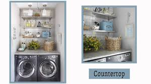 laundry room storage ideas youtube