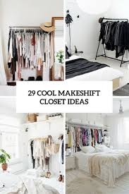 Bedroom No Wall Space Best 20 No Closet Solutions Ideas On Pinterest No Closet