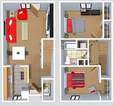 900 Square Foot House Plans by 2 Bedroom Town Home At Springfield 900 Square Feet Floor Plans